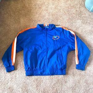 vtg logo athletic 90s florida gators nylon jacket